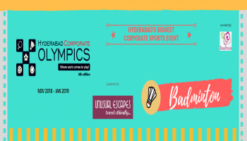 Corporate Badminton - 8th Hyderabad Corporate Olympics