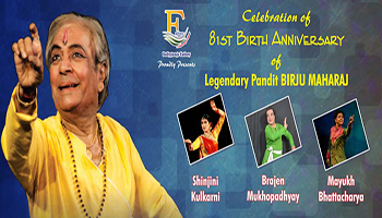 81st Birth Anniversary of Legendary Pandit Birju Maharaj