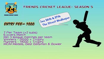 Friends Cricket league - Season 5