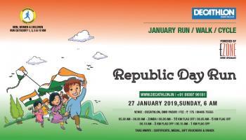 Decathlon Run Series - Republic Day Run at Padur