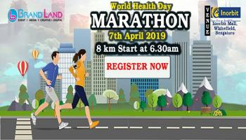 8K Marathon IN Bangalore on @ April 7th