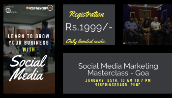 Social Media Marketing Masterclass for Startups/Entrepreneurs/SMEs