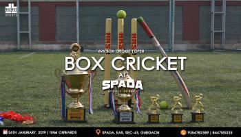 Box Cricket Challenge @ SPADA