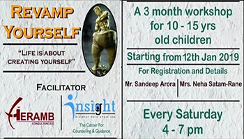 REVAMP YOURSELF (Life is about creating yourself)