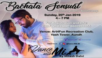 Bachata Sensual Choreography Bootcamp - New Year Edition