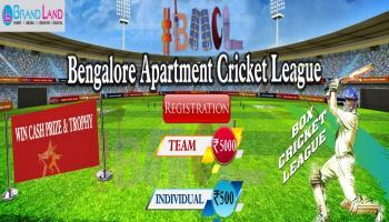 Bangalore Apartment Cricket League - 2018