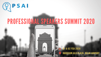PROFESSIONAL SPEAKERS SUMMIT 2020 ( Professional Speakers Association of India)