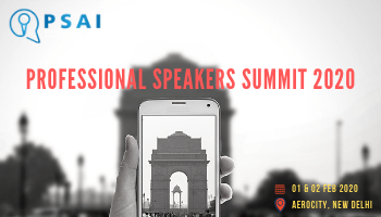 PROFESSIONAL SPEAKERS SUMMIT 2020 ( Professional Speakers Association of India)