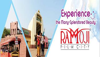 Ramoji Film City Day Tour