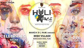 HOLI FACE 2019