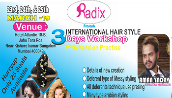 INTERNATIONAL HAIR STYLE WORKSHOP