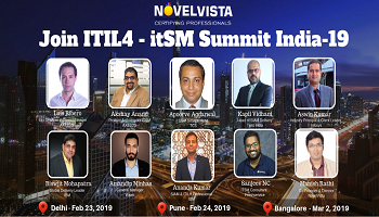ITIL4 itSM Best Practice sharing Summit Pune