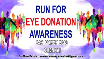 Run For Eye Donation Awareness - 2019