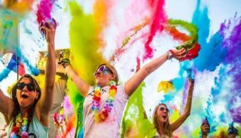 Holi Festival at I-BAR, The Park (Color Splash, Rain Dance, Pool Party)