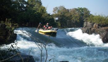 River Rafting and Adventure Activities at Dandeli