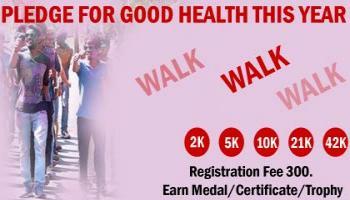 2K/5K/10K/21K/42K Walk March Challenge 2019 by INDIA RUNNER