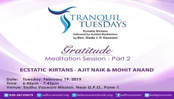 Meditation at Tranquil Tuesdays
