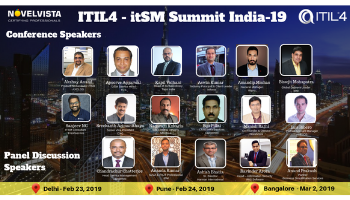ITIL4 itSM Best Practice Sharing Summit In Bangalore