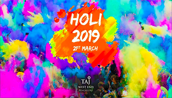 Holi 2019 At The Taj West End