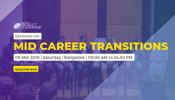 Seminar on Mid Career Transitions - Bangalore