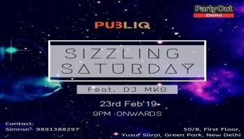 Sizzling Saturday By Party Out Delhi