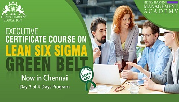 Lean Six Sigma Green Belt Course by Henry Harvin Education