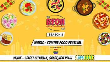 BYOH FOOD FEST SEASON - 2