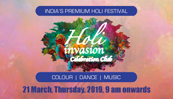 Holi Invasion @ Celebration Club