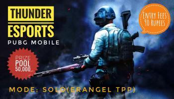 PUBG Mobile Tournament Solo Erangel