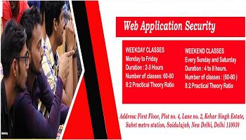 Summer Internship on Web Application Security 2019