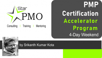 StarPMO PMP Certification Accelerator Program  Bengaluru April 19