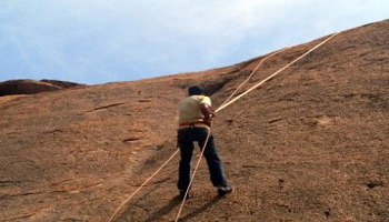 Trekking, Rock Climbing and Rappelling at Ramnagaram