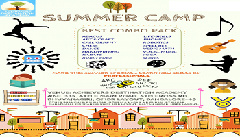 Best Summer Camp in OMBR Layout, Bangalore by Achievers Destination Academy