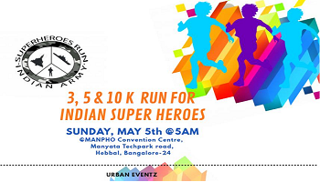 Run For Indian Super Heroes (A fund raising event for army people)