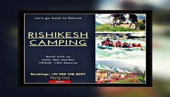 Rishikesh Camping Trip