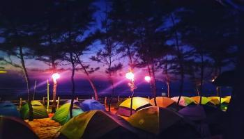 gokarna beach trek and camping