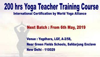 200 hrs Yoga Teacher Training Course