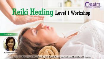 Reiki Healing Level 1 Workshop copy