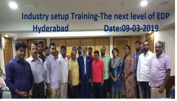 Industry setup Training-The next level of EDP