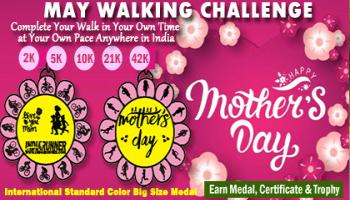 Mothers Day Walking Challenge 2019