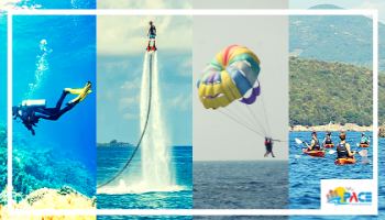 Scuba Diving + Flyboardding + Watersports in Goa - Best Combo Offer - Pace Tour Packages