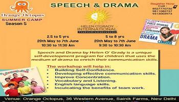 Speech Drama Workshop at Orange Octopus