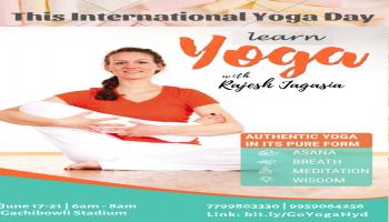 Get Fit Hyderabad With Rajesh Jagasia