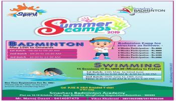 Smashers Summer Camp 2019 - Jaipur