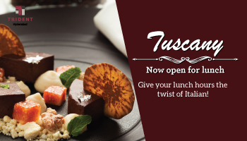 Lunch at Tuscany (Trident)