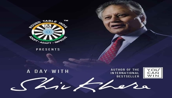 A DAY WITH SHIV KHERA