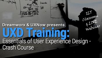 Essentials of User Experience Design Crash course:  ILT Classroom and Webinar copy