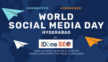 World Social Media Day - Hyderabad