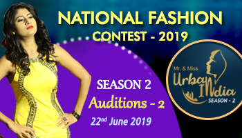 Mr and Miss Urban India 2019  Auditions - 2