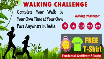 June Walk Challenge 2019 and GET Free T-shirt